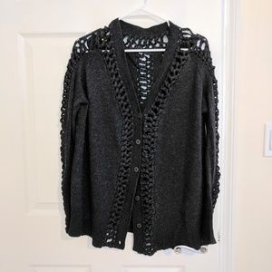 Like New All Saints braided cardigan UK8  US4